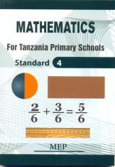 Mathematics Skills For Tanzania Primary Schools Std 4 - Mep