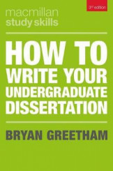 How To Write Your Undergraduate Dissertation