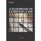 A Handbook of Company Law