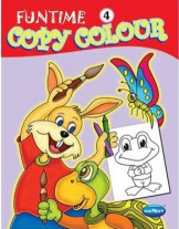 Funtime Copy Colour Book 4