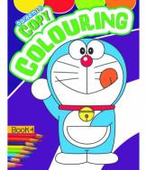Doraemon Copy Colouring Book - 4