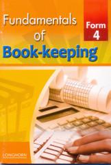Fundamentals of Book Keeping form 4