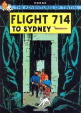 Adventures of Tintin-Flight 714 to Sydney
