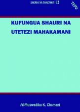 Kufungua Shauri na Utetezi Mahakamani