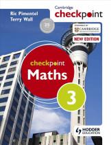 Checkpoint Mathematics 3 Student book