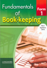 Fundamentals of Book keeping form 1