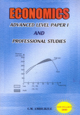 Economic s Advanced level paper 1 and professional studies