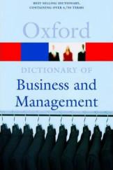 Dictionary Of Business & Management 4E