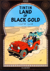 Tintin in the land of black Gold