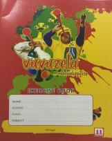 Vuvuzela exercise book