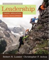 Leadership Theory, Application & Skills Development