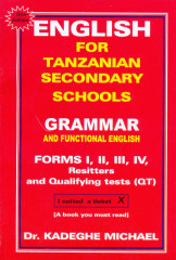 English for secondary school: Grammar and functional English form 1 - 4