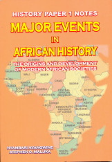 Major Events In African History Paper Notes For A Level