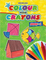 Dreamland Colour With Cryons Bk 1