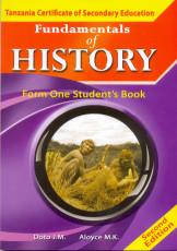 Fundamentals Of History form 1