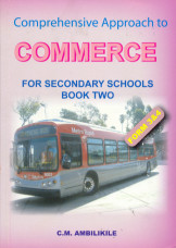 A Comprehensive Approach to Commerce For Sec Schools Book Two- 3 & 4