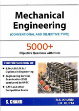 Mechanical Engineering (Conventional And Objectives)