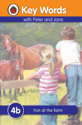 Ladybird Key Words With Peter And Jane (Fun At The Farm) 4B