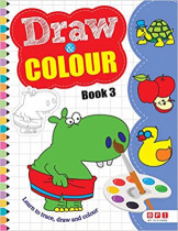 Draw and Colour Level 3